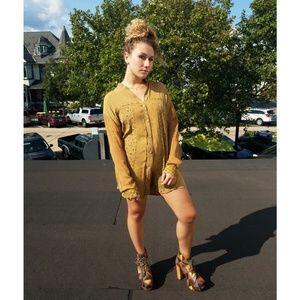 Patchwork Tunic Dress